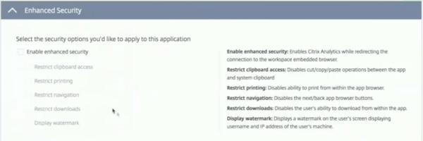 Citrix Cloud Access Control
