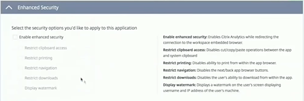 Citrix Cloud Access Control